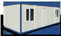 За офиси, строителни обекти,за живеене,съединени контейнери - за заседателни зали, за търговски обекти, за вили Стандартни модели или с размери, съобразени с Вашите нужди и желания.