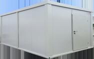 Складови контейнери Може да бъде единичен или конфигурация от няколко складови контейнера.