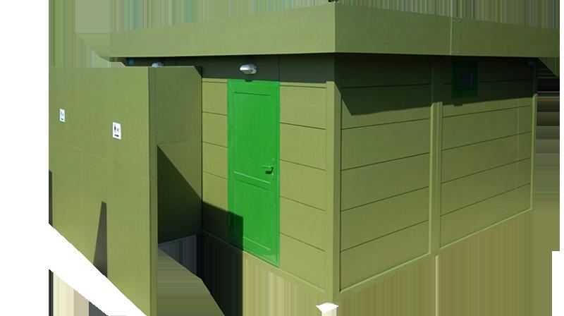 Container grupuri WC-Duş
